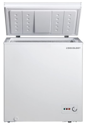 Cookology-CCF142WH-White-Outbuilding-Chest-Freezer